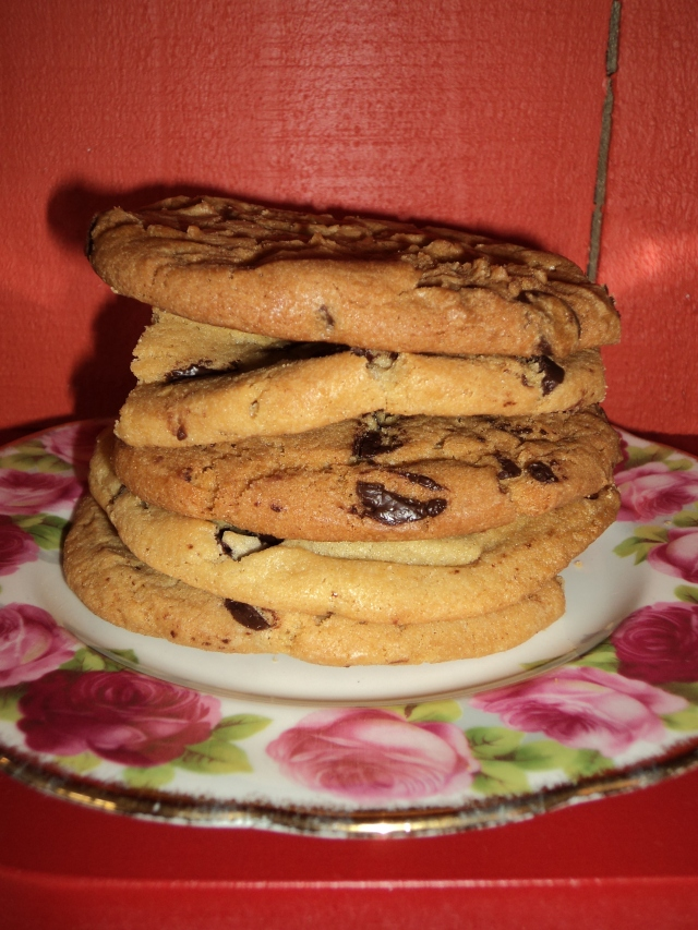 Tollhouse Chocolate Chip Cookies at Jumping Tangents, Wanaka New Zealand