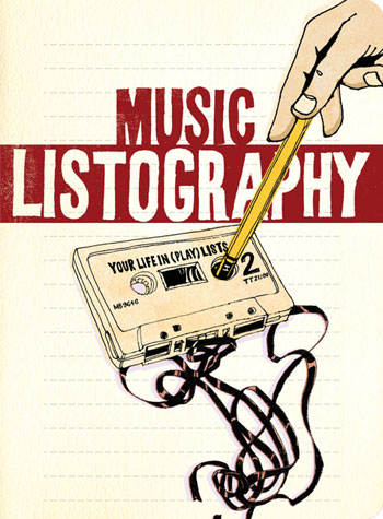 Music Listography from Jumping Tangents Online Gift Shop NZ