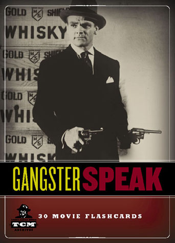 Gangster speak flash cards 30 movie flashcards from Jumping Tangents online store NZa