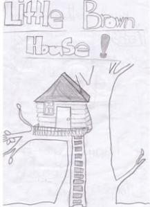 Little brown house love letter from Christchurch kids. Naw!