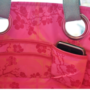 Papaya Luxe Tote Cell Holder from Jumping Tangents online gift shop NZ