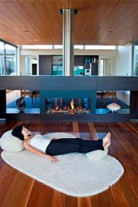 Wanaka Living moa lounge rug from Jumping Tangents little brown house New Zealand
